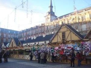Mercadillo de Navidad na Plaza Mayor