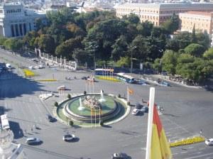 Vista do Mirador do Centro de Cibeles