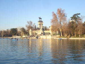 Parque del Retiro no inverno (incrível como ele é lindo em qualquer estação!)