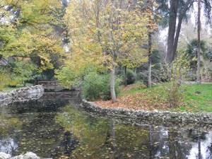 Final do outono no Parque del Retiro
