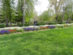 O Parque del Retiro fica assim... lindo!