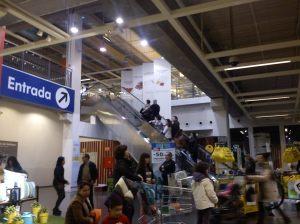 Ikea lotada, principalmente nos findes!