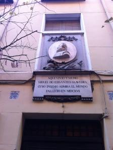 Casa de Cervantes, no coração do Bairro das Letras