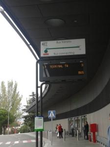 Parada de ônibus do Express