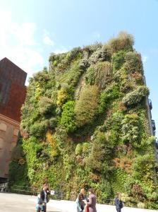 Jardim vertical do Caixa Forum