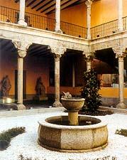 O poço do milagre, localizado no Museu de San Isidro