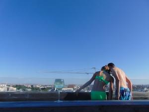 Piscina panorâmica do Balcony