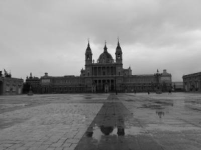 Madrid chuvosa