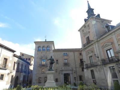 Plaza da Villa, antiga Prefeitura de Madrid