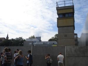 Posto de controle do Muro