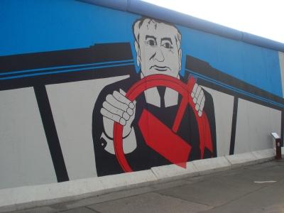 Arte no Muro de Berlim