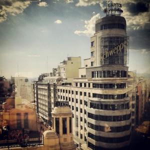 Plaza de Callao e seu edifício mais conhecido