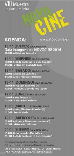 Agenda Novocine