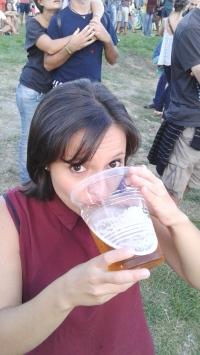 Sabe qual o tamanho dessa cerveja? Mini!!