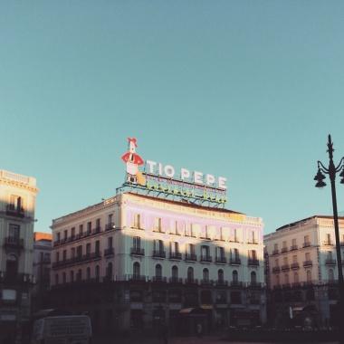 Madrid pela Paula