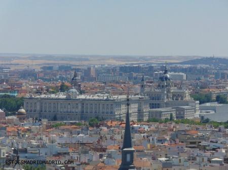 Palácio Real, Catedral da Almudena e outros pontos da cidade